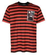 Givenchy Men's Orange/black Cotton T-shirt.
