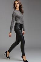 Dynamite Kate Faux Leather Moto Skinny Pant