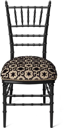 Gucci Chiavari chair with GG jacquard