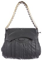 Zac Posen Pleated Leather Bag
