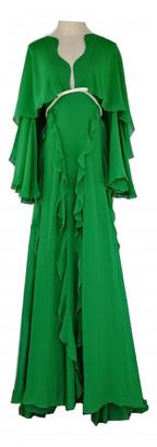 Giambattista Valli Green Silk Dresses