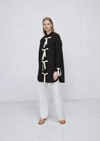 J.W.Anderson black oversized button shirt dress