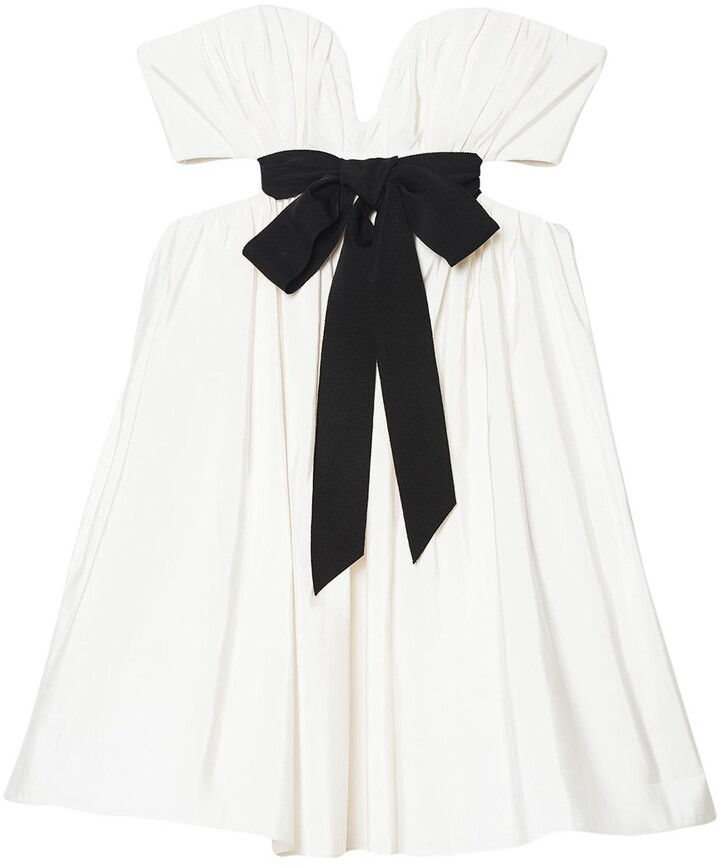 Thumbnail for your product : Carolina Herrera Bow-Embellished Cut-Out Dress