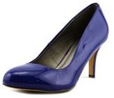 Michael Antonio Finnea Women Round Toe Synthetic Blue Heels.