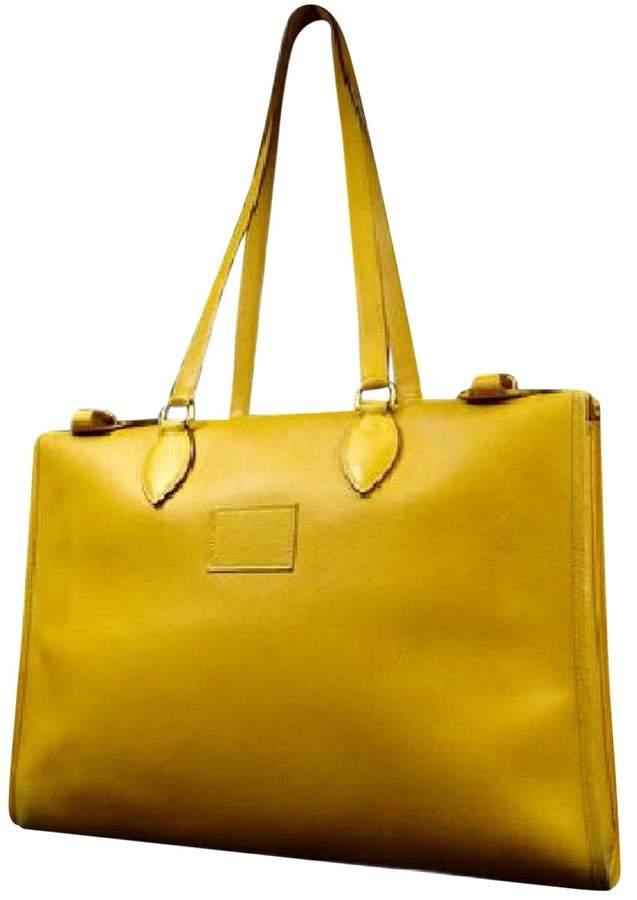 f7521b2323 Yellow Leather Handbags - ShopStyle