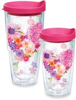 Tervis Floral Hearts Wrap 24-Ounce Tumbler with Lid
