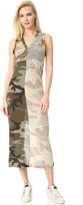 Maison Margiela Printed Camouflage Dress
