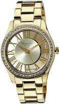 Kenneth Cole New York Women's KC4853 Transparency Yellow Transparency Analog Watch
