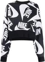 Nike oversized logo-print sweatshirt