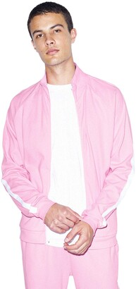 American Apparel Men's Interlock Long Sleeve Track Jacket