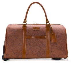 Patricia Nash Coated Canvas Avola Trolley Duffel