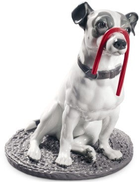 Lladro Jack Russell with Licorice Figurine