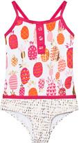 Hatley Cerise Pineapple Print Swimsuit