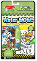 Melissa & Doug NEW Water Wow! Pet Mazes Colouring Pad