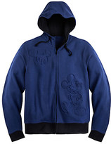 Disney Mickey Mouse Zip Fleece Hoodie for Adults