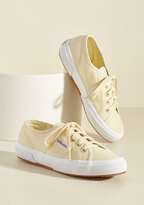Superga Active Kindness Sneaker in Buttercream in 10