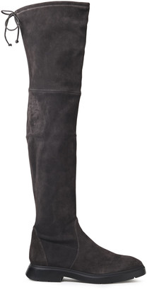 Stuart Weitzman Kristina Suede Over-the-knee Boots