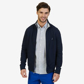 Nautica Zip Front French Terry Track Jacket
