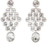Givenchy Silver-Tone Chandelier Earrings