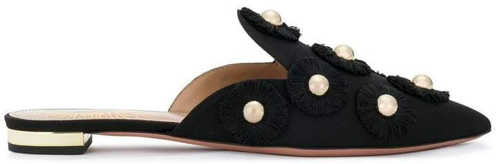 Aquazzura Sunflower mules