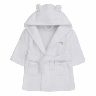 Baby Town Lora Dora Baby Girls Hooded Fleece Dressing Gown Pink 6-12 Months