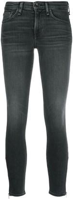 Rag & Bone Denim Cropped Skinny Jeans