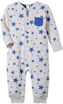 Petit Lem Little Star Playsuit (Baby) - Grey - 3 Months