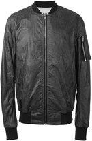 Rick Owens zipped bomber jacket - men - Cotton - XL