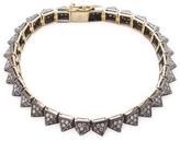 Artisan Women's Spike bracelet with Diamonds