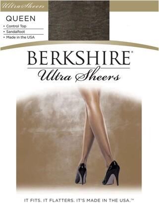 Berkshire Women's Plus-Size Queen Ultra Sheer Control Top Pantyhose 4411