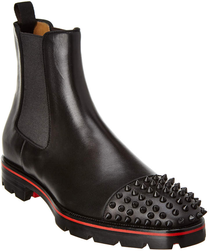 best website 4bb3f ec03d Melon Spikes Leather Boot