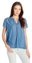 Levi's Women's Short Sleeve Rosewood Shirt