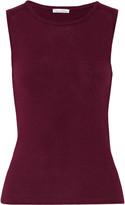 Oscar de la Renta Wool and silk-blend sweater