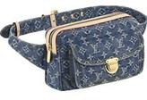 Monogram Denim Bum Bag