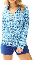 Lilly Pulitzer Skipper Printed-Popover Top