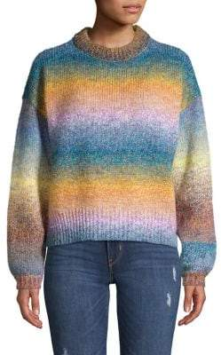 Vero Moda Rainbow Ombre Knit Sweater