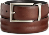 Ryan Seacrest Distinction Feather-Edge Reversible Welt Leather Dress Belt, Only at Macy's