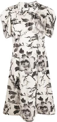 McQ Satomi floral-print dress