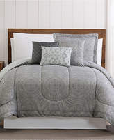 Pem America Calista 12-Pc. Medallion-Print King Comforter Set Bedding