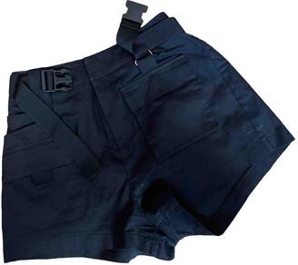 I.AM.GIA Black Synthetic Shorts