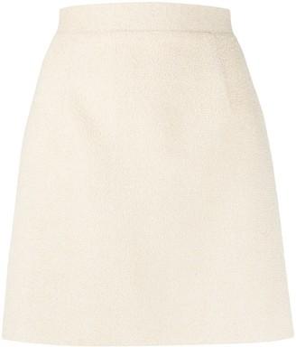 Loulou Textured Mini Skirt