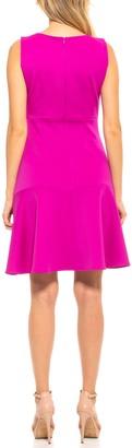 Alexia Admor Devin Boatneck Sleeveless Sheath Dress