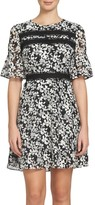 CeCe Women's Alayna Floral Fit & Flare Dress