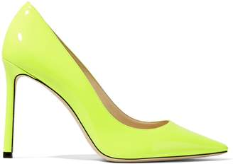 Jimmy Choo Neon Leather Pumps