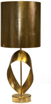 Worlds Away Brutalist Ribbon Table Lamp