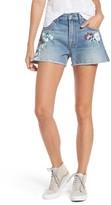 Seven7 Women's 7 For All Mankind Handpainted Cutoff Denim Shorts