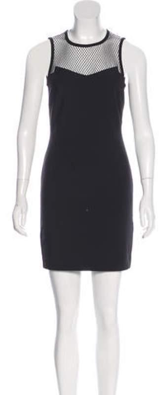 Rag & Bone Sleeveless Mini Dress Black Sleeveless Mini Dress