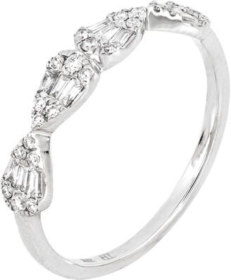 Bony Levy Gatsby Pear Shape Diamond Ring