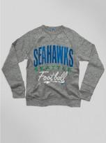 Junk Food Clothing Kids Nfl Seattle Seahawks Sweatshirt-heather Grey-xs