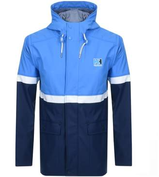 Helly Hansen Hooded Rain Jacket Blue